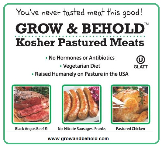 Grow & Behold Kosher Pastured Meats